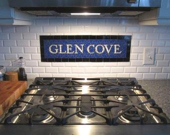 NYC Subway Mosaic Glass Install for Bathroom  /  Kitchen  /  Backsplash - Mosaic Install - New York City
