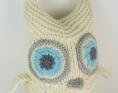 Hand Knit Owl