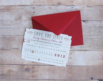 Punch Card Ticket - Union Station Train Depot Save the Date for Wedding, Birthday, Baby Shower, Bridal Shower, Bar Mitzvah and Bat Mitzvah