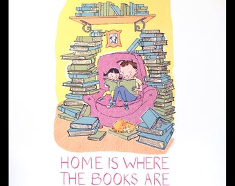 Home is Where the Books Are Print
