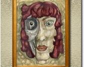 Vanity - Fine Art Print on heavy Cotton Canvas - unframed