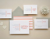 Wedding Invitation Sample - The Ashley Suite