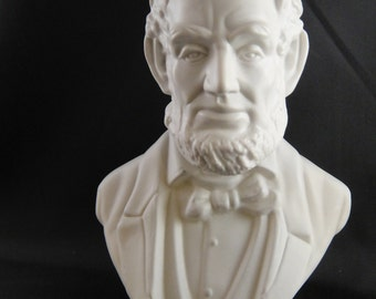 Abe Lincoln Avon After Shave Decanter