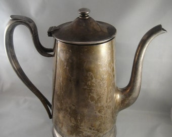 Victor S. Co Silverplate Lidded Pitcher 48 ounces