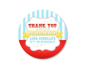 Carnival Party Favor Tags (24)