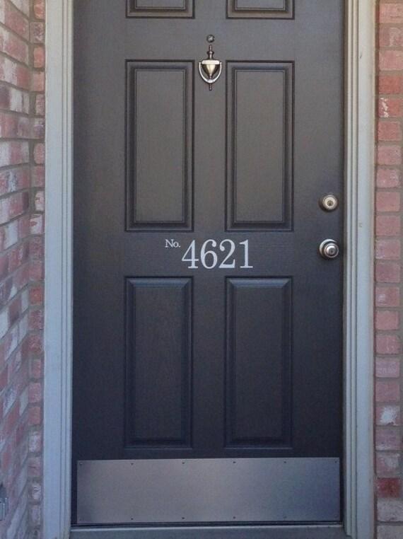 1 to 4 digits custom order front door by itsastickysituation for Order front door