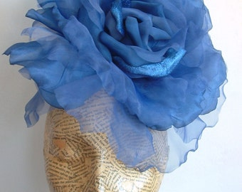 SALE Extra Large Rose -  Royal Blue WAS 50.00 NOW 40.00