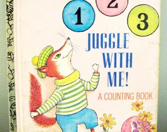 Vintage Little Golden Book Juggle With Me