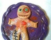 Cute Mini Mirror Voodoo Doll~ Free shipping