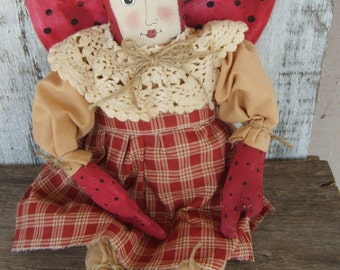 Handcrafted and Hand Painted Lady Bug or Lady Bee