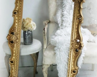 H O L L Y W O O D Regency Furniture Vintage Mirror any color c1960's