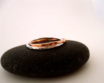 LiNkeD...sTeRLiNg aNd CoPPeR RiNg