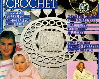 MAGIC  CROCHET MAGAZINE No. 33 December 1984