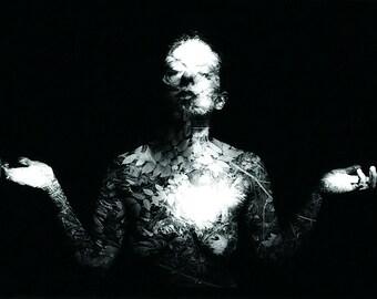Invisible Rhythm, Tribal, Mysterious, Earthy, Fine Art Photography