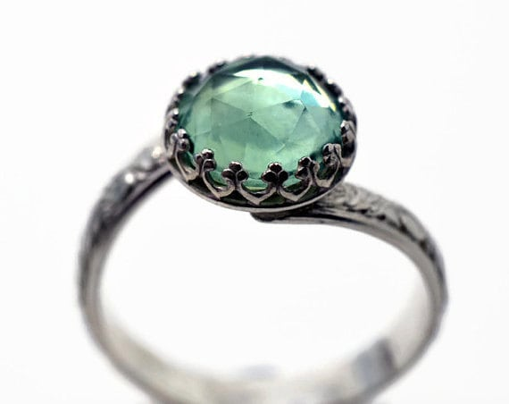 Natural Fluorite Ring Green Jewel Engagement Ring By. Outdoors Mens Wedding Rings. Little Finger Rings. Dot Engagement Rings. 15000 Dollar Wedding Rings. Ollu Rings. Mystic Fire Rings. Gemstone Accent Wedding Rings. Electrical Engineer Wedding Rings