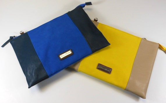 Myla Clutch or Crossover in Yellow or Blue