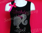 Doll Birthday Girl Tank Top or Tee Toddler though Adult