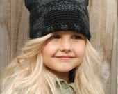 Crochet PATTERN-The Skular Cap (Toddler, Child, and Adult sizes)