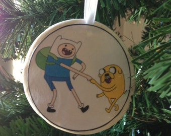 Adventure Time- Finn & Jake Ornament!