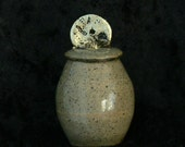 Ceramic Tiny Lidded Pot