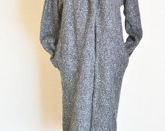 Vintage Jessica McClintock Collections, Classic Grey Sweater, 100% Wool, Vintage  Fashion
