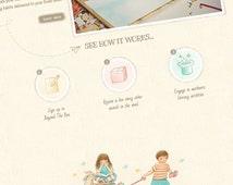 WordPress Website Design - Custom Web Design. WordPress Web and Blog Design. Custom Website, Kids Photography Web. Custom WordPress Theme