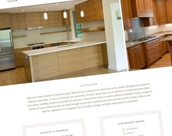 Wordpress Website Design - Custom CMS Web Design. Custom Portfolio Website, Wordpress Design. Online Portfolio Website, Professional Web.