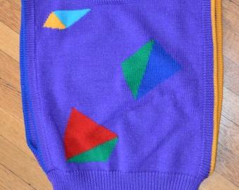 Wild Pierre Cardin 80's sweater vest