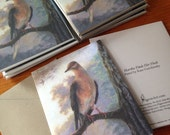 Folded Note Cards - Passenger Pigeon Set of 4 with envelopes