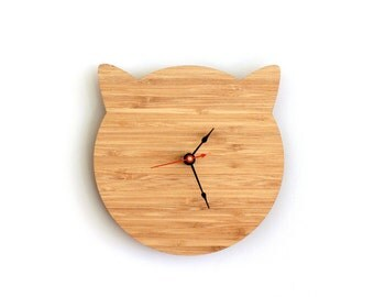 Kitty Cat Clock