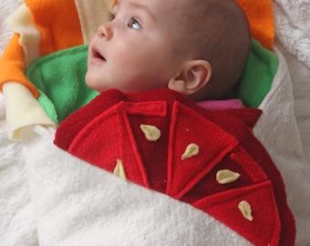 Baby Halloween Costume, Funny Baby Shower Gift, Burrito Baby Blanket, Funny Baby Costume, Swaddle Blanket, Newborn Halloween Costume