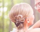 Bridal  Headpiece - Wedding Hair Accessories - Bridesmaids Gift - Bridal Accessories Hair - Modern Minimalist Wedding - Gift for Women
