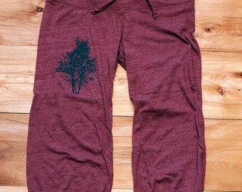 under the mulberry Tree Pants, Cropped Pants, Lounge Pants, S,M