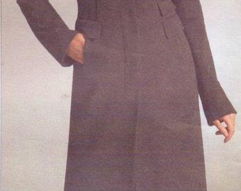 Donna Karan Womens Above Knee Jacket and Pencil Skirt OOP Vogue Sewing Pattern V2990 Size 18 20 22 Bust 40 42 44 UnCut American Designer