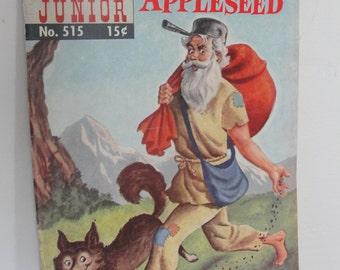 Johnny Appleseed ~ retro comic book