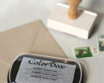 Silver Metallic - Colorbox Archival PIGMENT Ink Pad
