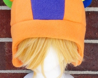 Stitches - Animal Crossing - Fleece Hat Adult, Teen, Kid - A winter, nerdy, geekery gift!