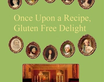 Gluten free cookbook - French historical recipes - black friday cyber monday christmas free shipping gift - men women - macaroon coffee