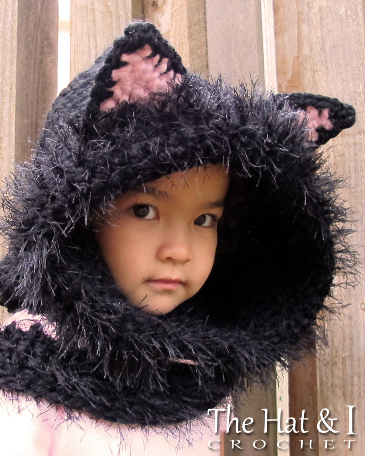 Crochet pattern the cats meow chunky crochet hooded zoom bankloansurffo Images