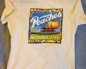 Handmade REPLICA Joan Jett Peaches Records t-shirt
