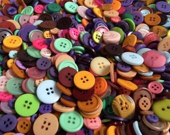 Mixed 50g Button Bag