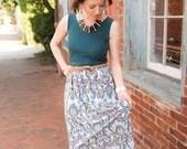 Maxi Dress pattern womans, womans maxi dress pdf sewing pattern, maxi dress pdf sewing pattern, womens PDF sewing pattern, maxi dress