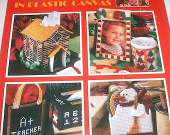 Plastic Canvas Christmas Gifts