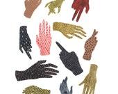 varia spell. print // Hand Pattern Illustration