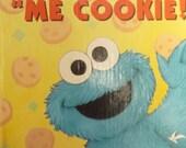 Vintage Muppets Book Children's Sesame Street  (1994)