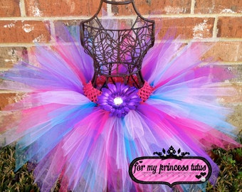 Super Star Tutu - newborn tutu, infant tutu, baby tutu, toddler tutu, purple tutu, hot pink tutu, dance tutu, dress up tutu, princess tutu