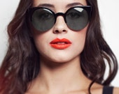 Round Cat Eye Sunglasses - The Cats Eye