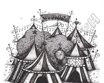 The Night Circus Print