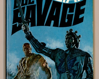 Doc Savage 44, The Sea Magician by Kenneth Robeson 1970 Bantam Book H4810 First Bantam Printing, Cover Art by James Bama. Vintage Paperback