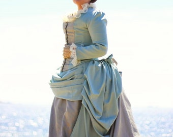 Victorian Bustle Gown